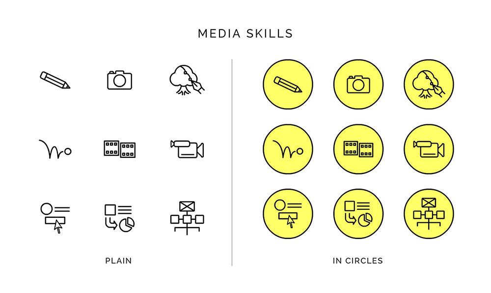 media-skillsets-icon-set