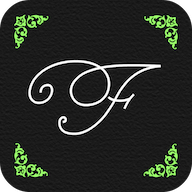 flourish lettering and calligraphy app icon