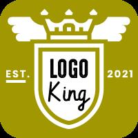 logo king vintage logo maker app icon