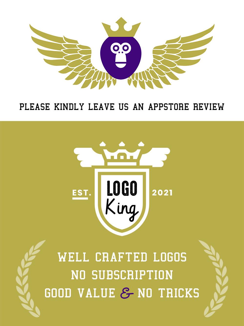logo king vintage logo maker promo